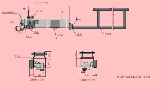 vs-ah空气预热器吹灰器图片